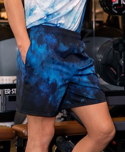 All-Over Print Men's Athletic Shorts