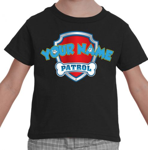 Paw Patrol Custom Shirt